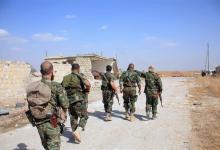 """صورة قتلى وجرحى من قوات النظام بهجوم لـ""""داعش"""" في ريف الرقة"""