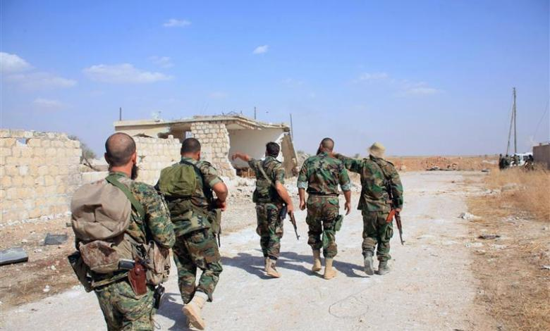 "1605045436 unnamed file - قتلى وجرحى من قوات النظام بهجوم لـ""داعش"" في ريف الرقة"