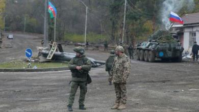 """صورة بمساعدة روسية.. أذربيجان وأرمينيا تتبادلان جثث الجنود في """"شوشة"""""""