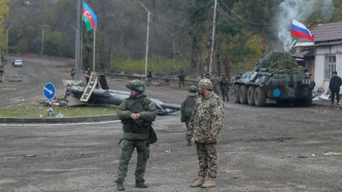 """1605347632 9532384 3975 2238 16 82 - بمساعدة روسية.. أذربيجان وأرمينيا تتبادلان جثث الجنود في """"شوشة"""""""