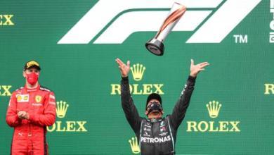 صورة فورمولا-1.. هاميلتون يفوز بجائزة تركيا ويحسم بطولة العالم