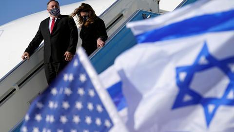 1605711080 9569354 5446 3067 14 347 - بومبيو يصل إسرائيل وملف إيران والمستوطنات على رأس جدول الأعمال