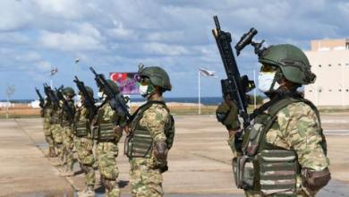 صورة وزير الدفاع الليبي يشيد بتخريج أول دفعة متدربين من الجيش على يد قوات تركية