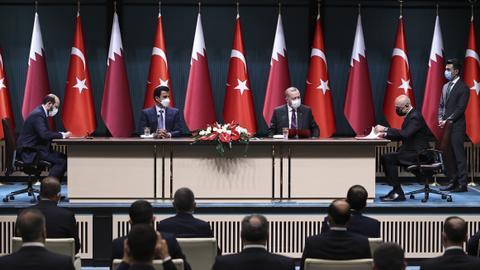 """1606407947 9633794 4648 2617 23 152 - تركيا وقطر توقعان 10 اتفاقيات ومذكرة بين """"السيادي التركي و""""قطر للاستثمارات"""""""