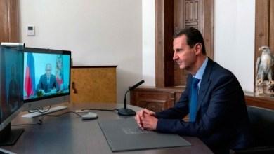 صورة الكرملين يصدر بياناً بعد اتصال هاتفي بين الأسد وبوتين