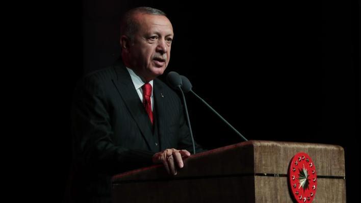 الرئيس التركي يقول إن الكفاح لن يتوقف حتى تحرير