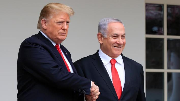 دعم ترمب إسرائيلخلال ولايته بشكل كبير على حساب الفلسطينيين