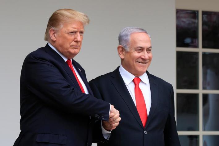 دونالد ترامب دعم إسرائيل بشكل مطلق على حساب الفلسطينيين وحقوقهم
