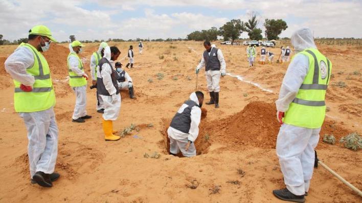 8467345 949 534 10 5 - ترهونة.. العثور على 112 جثة في مقابر جماعية خلال خمسة أشهر