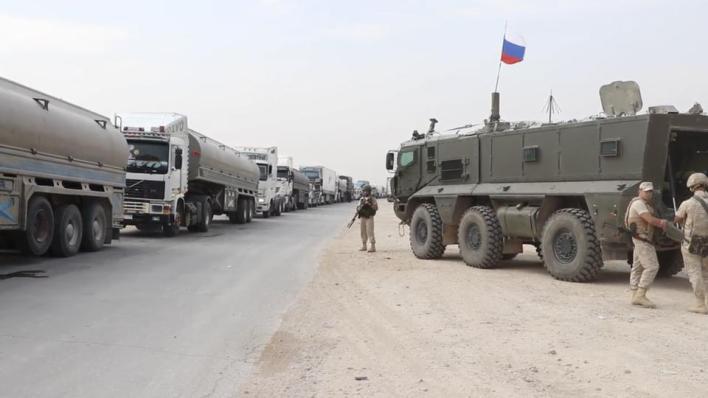 PKKYPG الإرهابي يواصل بيع النفط للنظام السوري بحماية روسية