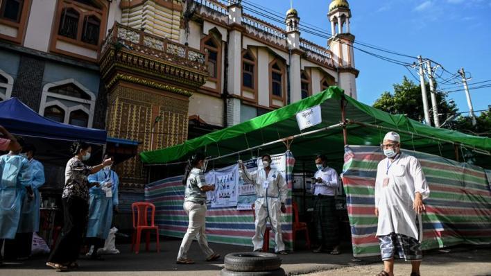 مفوضية الانتخابات في ميانمار ألغت التصويتفي ولايات تعيش فيها أقليات مسيحية ومسلمة إلى جانب البوذيين