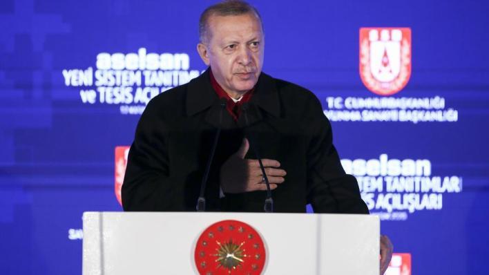 أردوغان يؤكد العمل على استخدام أنظمة محلية الصنع بالكامل في المجال العسكري