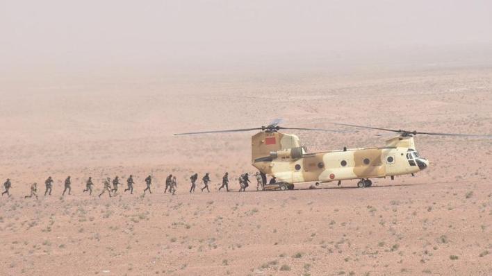 الجيش المغربي يعلن أن معبر الكركرات