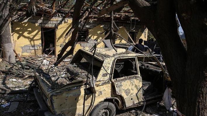 الأرمينيون أحرقوا البيوت والمرافق العامة في محافظة كلبجار الأذربيجانية قبل مغادرتهم إياها