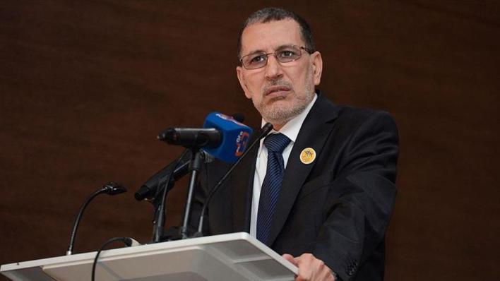 رئيس الوزراء المغربي سعد الدين العثماني يقول إن المغرب انتهى من بناء جدار رملي في إقليم الصحراء