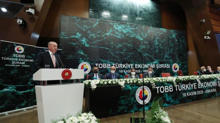 الرئيس التركي يدعو المستثمرين للاستثمار في جميع المجالات والقطاعات ببلاده
