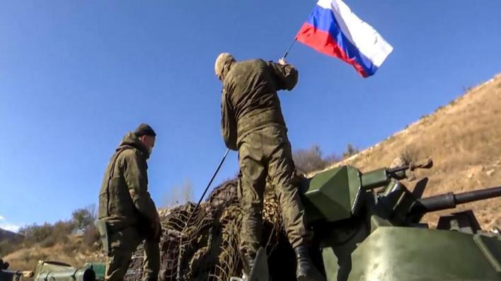 وزارة الدفاع الروسية تقول إن 23 نقطة مراقبة حالياً تنفذ متابعة الوضع في نطاق إجراء عملية حفظ السلام، منها 11 في منطقة المسؤولية