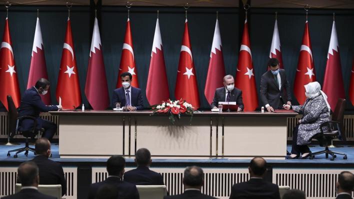 الرئيس التركي يقول إن المباحثات مع الجانب القطري كانت مثمرة