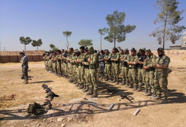 IMG 2959 - الضربة الروسية على فيلق الشام إنذار بهجوم على إدلب أم على قسد؟