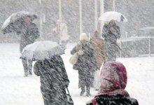 صورة عاجل: الأرصاد الجوية تعلن عن عواصف ثلجية قادمة وامطار غزيرة في هذه المدن التركية