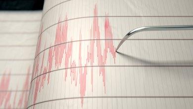 صورة زلزال قوي يهز اليابان ويوقف الحركة فيها وينجم عنه إصابة الكثير