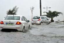 صورة بالصور و الفيديو أمطار غزيرة في إزمير تتسبب بالفيضانات والسيول