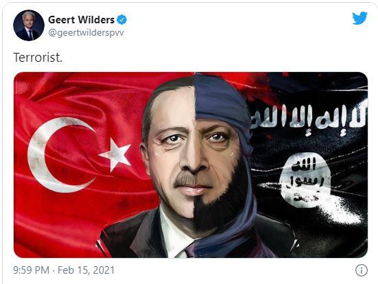 ardogan 2 - أنقرة تقاضي زعيم حزب هولندي بسبب 'تغريدة مهينة' لأردوغان