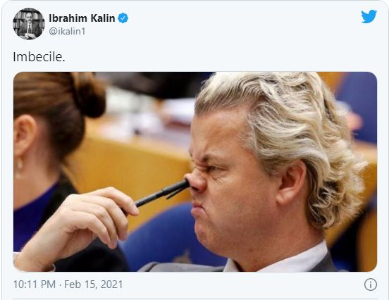 holand 2 - أنقرة تقاضي زعيم حزب هولندي بسبب 'تغريدة مهينة' لأردوغان