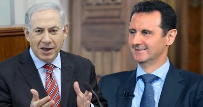 اسرائيل و الاسد