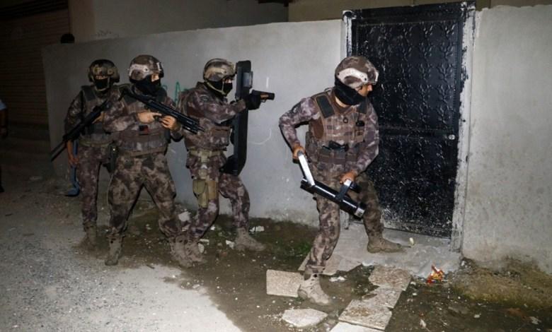 السلطات التركية تنفذ عملية