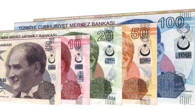 صورة تحسن في سعر صرف الليرة التركية مقابل العملات الأخرى اليوم