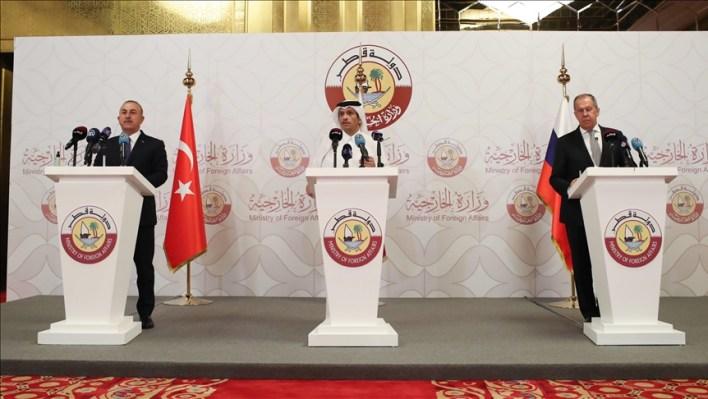 تركيا روسيا قطر