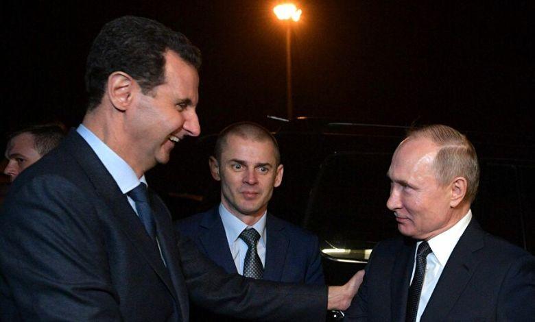 روسيا والاسد