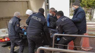 صورة العثور على جـ.ـثة رجل مربوط بصنبور مياه المسجد في مدينة اسطنبول