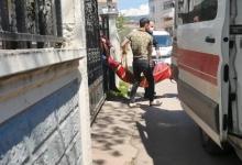 صورة سيدة تركية حامل تحاول الانتحار عن طريق طعن نفسها والأمن يتدخل في اللحظة الأخيرة..إليك التفاصيل
