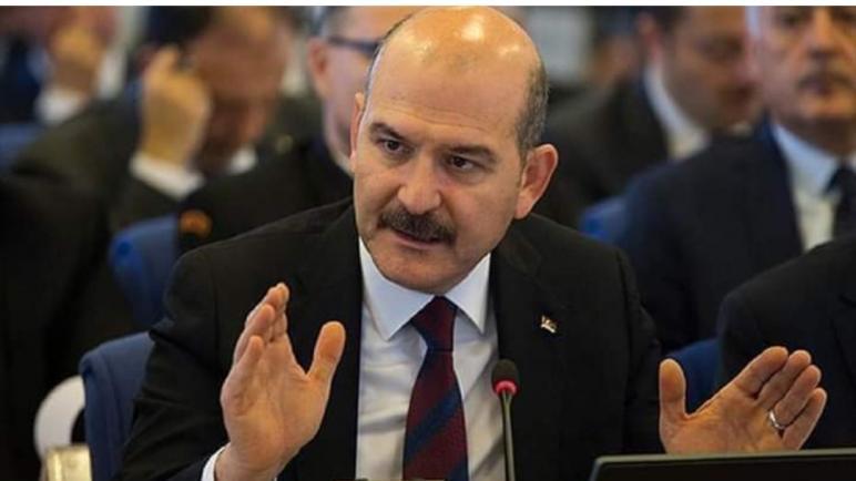 KVKWIIY6 - تحذير هام يوجهه وزير الداخلية التركي للسوريين والاجانب المقيمين في تركيا وهذا ما جاء فيه