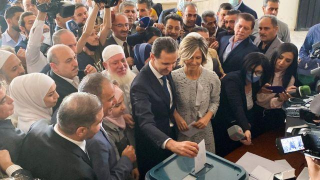 انتخابات الاسد