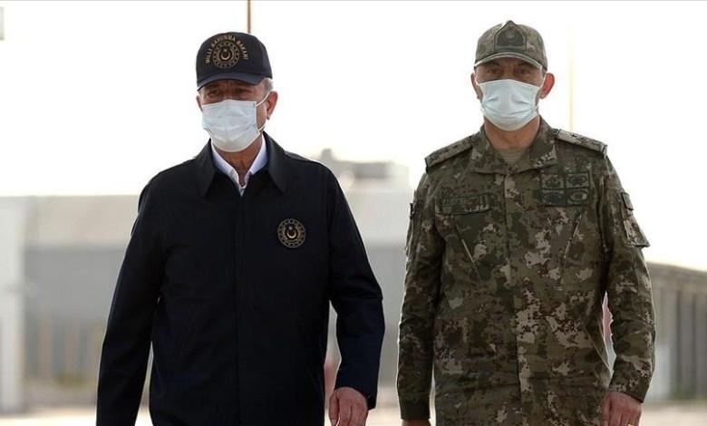 """thumbs b c 51f0f8ff0d2b746637c923e416265f44 - شاهد وزير الدفاع التركي يسافر ليتفقد الأوضاع عملية """"مخلب الصاعقة"""""""