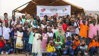 """صورة الإغاثة التركية """"İHH"""" توزع مساعدات على آلاف المحتاجين في القارة السمراء"""