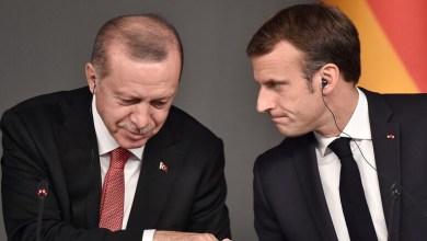 صورة محادثة مطولة بين ماكرون مع نظـ.ـيره التركي اردوغان حول الملف السوري