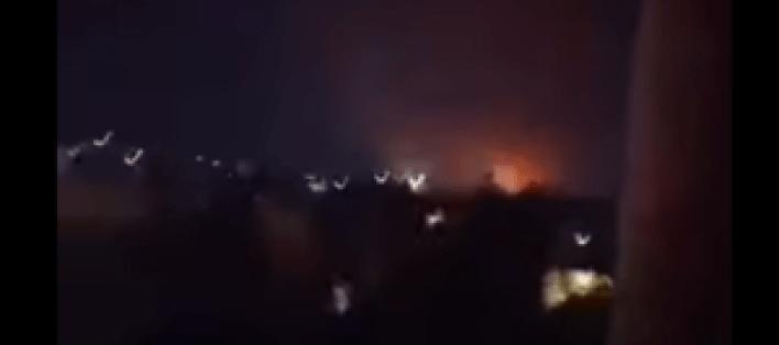اسرائيل 300x133 - غـ.ـارات جـ.ـوية إسـ.ـرائيلية تـ.ـدك مواقع إيـ.ـرانية في حلب.. فيديو