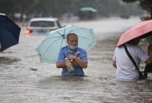 صورة بالفيديو..الفيضانات تشـ.ـتاح الصين وعـ.ـدد كبيـ.ـر من القتـ.ـلى والمتـ.ـضررين وتحـ.ـذير من الرئيس الصيني