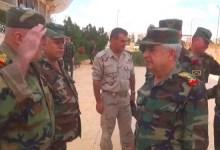 صورة شاهد.. ضابط في الجيش الروسي يطـ.ـرد وزير الدفاع لدى نظام الأسد بهذه الطريقة المهـ.ينة