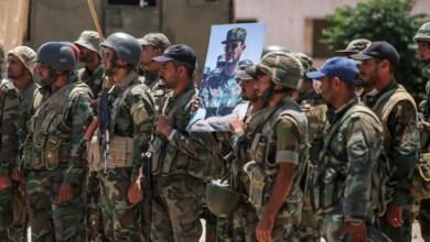 صورة ماهر الأسد يتـ.ـعرض لضـ.ـربة موجـ.ـعة من قبل أبناء درعا البلد بهذه الطريقة