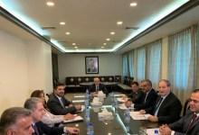 """صورة وفد وزاري عربي رفيع المستوى في دمشق لبحث هذه """"الخطة"""" وستشارك بها مصر ودولة عربية أخرى"""