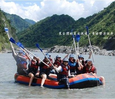 【花蓮 景點】 東台灣的夏日激情。秀姑巒溪泛舟