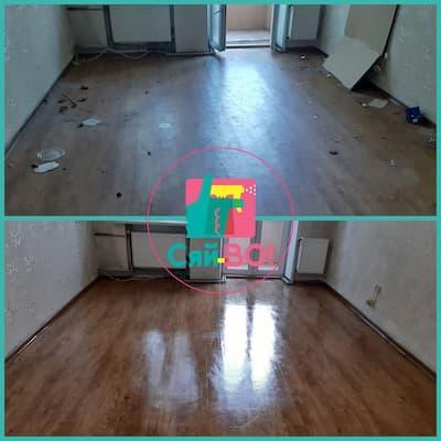 Колаж підлога