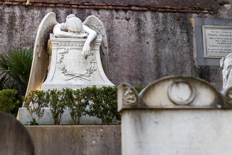 Прибирання місць поховань, догляд за могилами