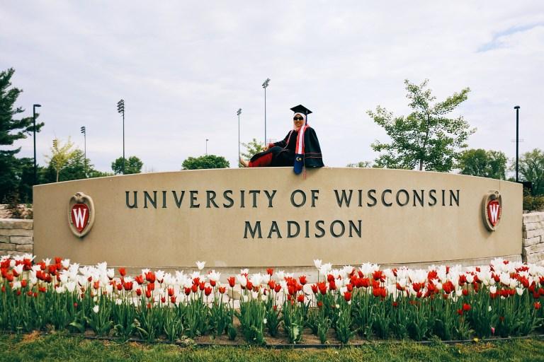 University of Wisconsin-Madison BBA graduate Syaza Nazura Class of 2017