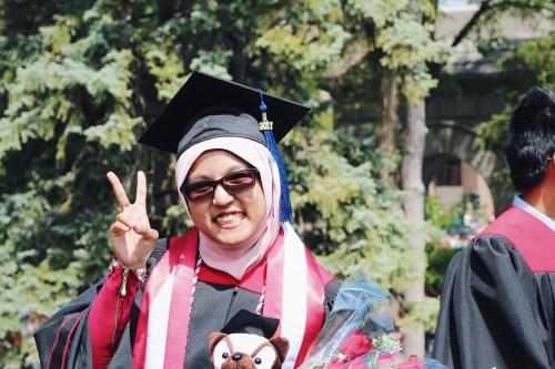 UW Madison graduate Syaza Nazura